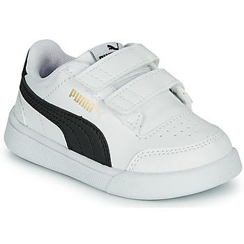 Sko Børn Lave sneakers Puma SHUFFLE INF Hvid / Sort