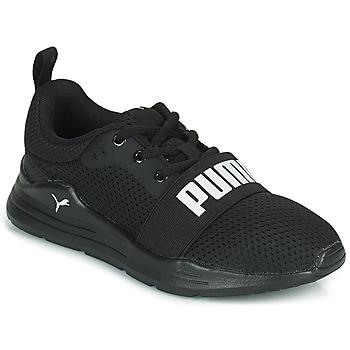 Sko Børn Lave sneakers Puma WIRED PS Sort