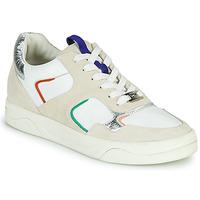 Sko Dame Lave sneakers Mam'Zelle ARTIX Hvid / Flerfarvet