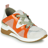 Sko Dame Lave sneakers Mam'Zelle VELODE Beige / Orange