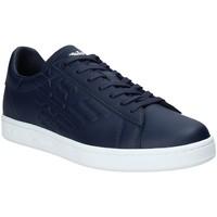Sko Herre Lave sneakers Ea7 Emporio Armani X8X001 XCC51 Blå