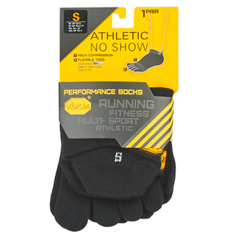 Accessories Sportsstrømper Vibram Fivefingers ATHLETIC NO SHOW Sort