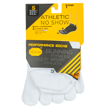 Accessories Sportsstrømper Vibram Fivefingers ATHLETIC NO SHOW Hvid
