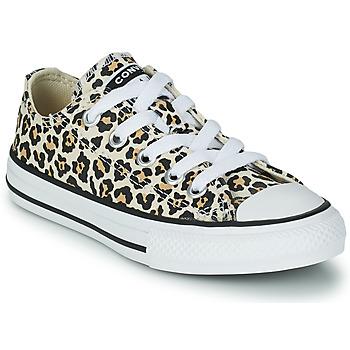 Sko Pige Lave sneakers Converse CHUCK TAYLOR OX Leopard / Flerfarvet