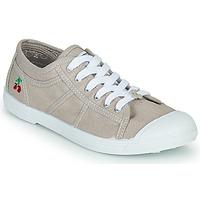 Sko Dame Lave sneakers Le Temps des Cerises BASIC LACE Beige