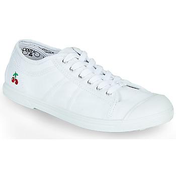 Sko Dame Lave sneakers Le Temps des Cerises BASIC LACE Hvid