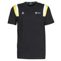 textil Herre T-shirts m. korte ærmer Le Coq Sportif RENAULT FANWEAR 20 Tee SS M Sort