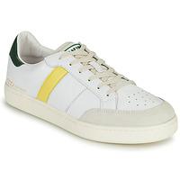 Sko Herre Lave sneakers Serafini WIMBLEDON Hvid / Grøn / Gul