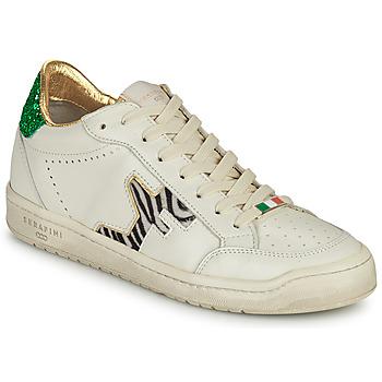 Sko Dame Lave sneakers Serafini SAN DIEGO Hvid