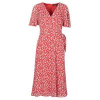 textil Dame Lange kjoler Lauren Ralph Lauren ABEL Rød