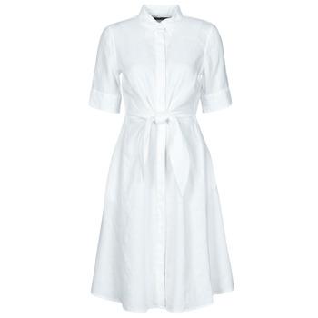 textil Dame Korte kjoler Lauren Ralph Lauren WAKANA Hvid