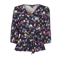 textil Dame T-shirts m. korte ærmer Lauren Ralph Lauren SHIANETA Flerfarvet