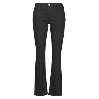 textil Dame Lige jeans Lauren Ralph Lauren MIDRISE STRT-5-POCKET-DENIM Sort