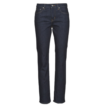 textil Dame Lige jeans Lauren Ralph Lauren MIDRISE STRT-5-POCKET-DENIM Marineblå