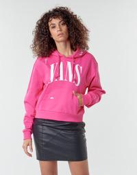 textil Dame Sweatshirts Vans WM KAYE CROP HOODIE Pink