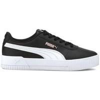 Sko Børn Lave sneakers Puma Carina L JR Sort