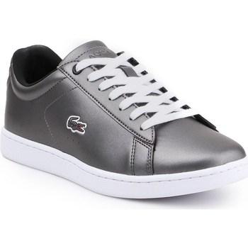 Sko Dame Lave sneakers Lacoste Carnaby Evo 317 Sølv
