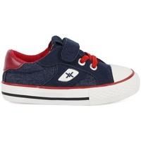 Sko Dreng Lave sneakers Chika 10 24453-18 Blå