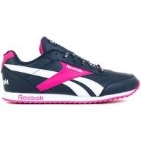 Sko Børn Lave sneakers Reebok Sport Royal Cljog 2 Hvid,Flåde,Pink