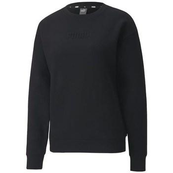 textil Dame Sweatshirts Puma Modern Basics Crew FL Sort