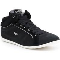 Sko Dame Lave sneakers Lacoste Missano Mid Sort