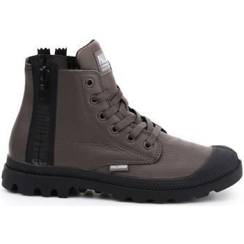 Sko Dame Høje sneakers Palladium Pampa Ubn Zips Brun