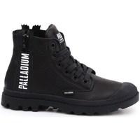 Sko Dame Høje sneakers Palladium Pampa Ubn Zips Sort