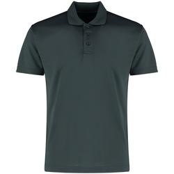 textil Herre Polo-t-shirts m. korte ærmer Kustom Kit KK455 Graphite Grey