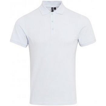 textil Herre Polo-t-shirts m. korte ærmer Premier PR630 White