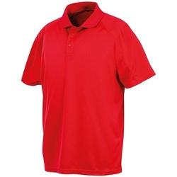 textil Polo-t-shirts m. korte ærmer Spiro SR288 Red