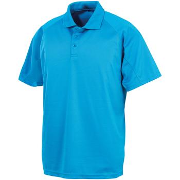 textil Polo-t-shirts m. korte ærmer Spiro SR288 Ocean Blue