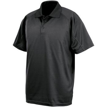 textil Polo-t-shirts m. korte ærmer Spiro SR288 Black