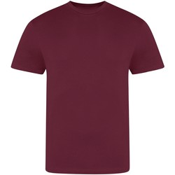 textil Herre T-shirts m. korte ærmer Awdis JT100 Burgundy