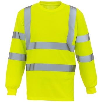 textil Sweatshirts Yoko YK012 Yellow