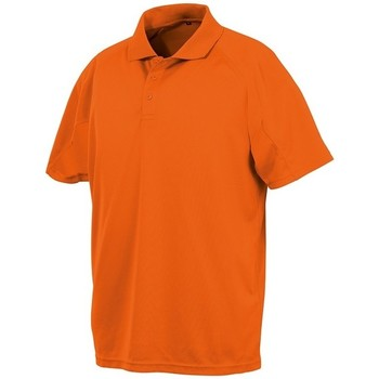 textil Polo-t-shirts m. korte ærmer Spiro SR288 Flo Orange