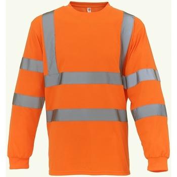 textil Sweatshirts Yoko YK012 Orange