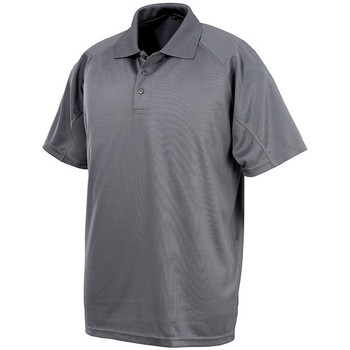 textil Polo-t-shirts m. korte ærmer Spiro SR288 Grey