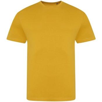 textil Herre T-shirts m. korte ærmer Awdis JT100 Mustard
