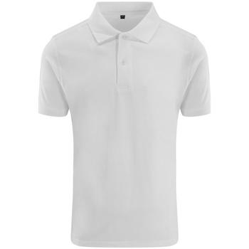 textil Herre Polo-t-shirts m. korte ærmer Awdis JP002 White