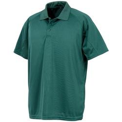 textil Polo-t-shirts m. korte ærmer Spiro SR288 Bottle Green
