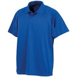 textil Polo-t-shirts m. korte ærmer Spiro SR288 Royal Blue