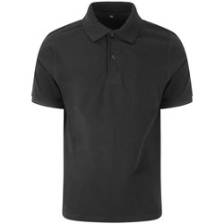 textil Herre Polo-t-shirts m. korte ærmer Awdis JP002 Black