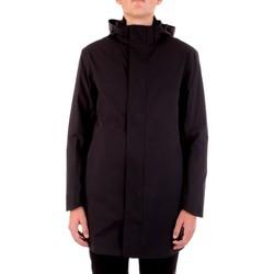 textil Herre Parkaer Selected 16074011 Nero