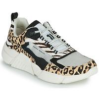 Sko Dame Lave sneakers Skechers BLOCK - WEST Beige
