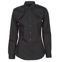 textil Dame Skjorter / Skjortebluser BOTD OWOMAN Sort