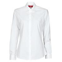 textil Dame Skjorter / Skjortebluser BOTD OWOMAN Hvid