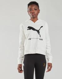 textil Dame Sweatshirts Puma NUTILITY HOODY Hvid
