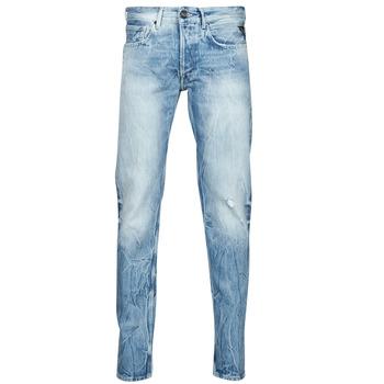 textil Herre Lige jeans Replay WIKKBI Super / Lys / Blå
