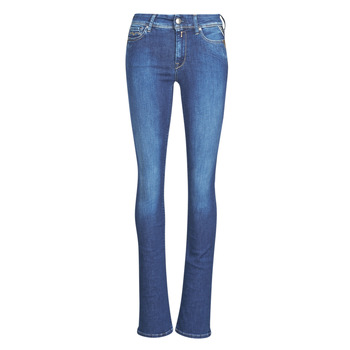 textil Dame Bootcut jeans Replay LUZ Super / Lys / Blå
