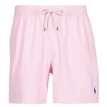 textil Herre Badebukser / Badeshorts Polo Ralph Lauren MAILLOT SHORT DE BAIN EN NYLON RECYCLE, CORDON DE SERRAGE ET POC Pink